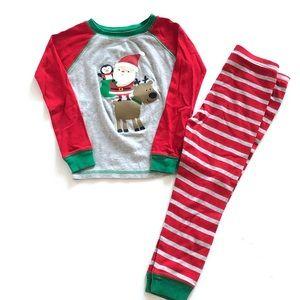 Carter's Santa/Reindeer Christmas Pajamas